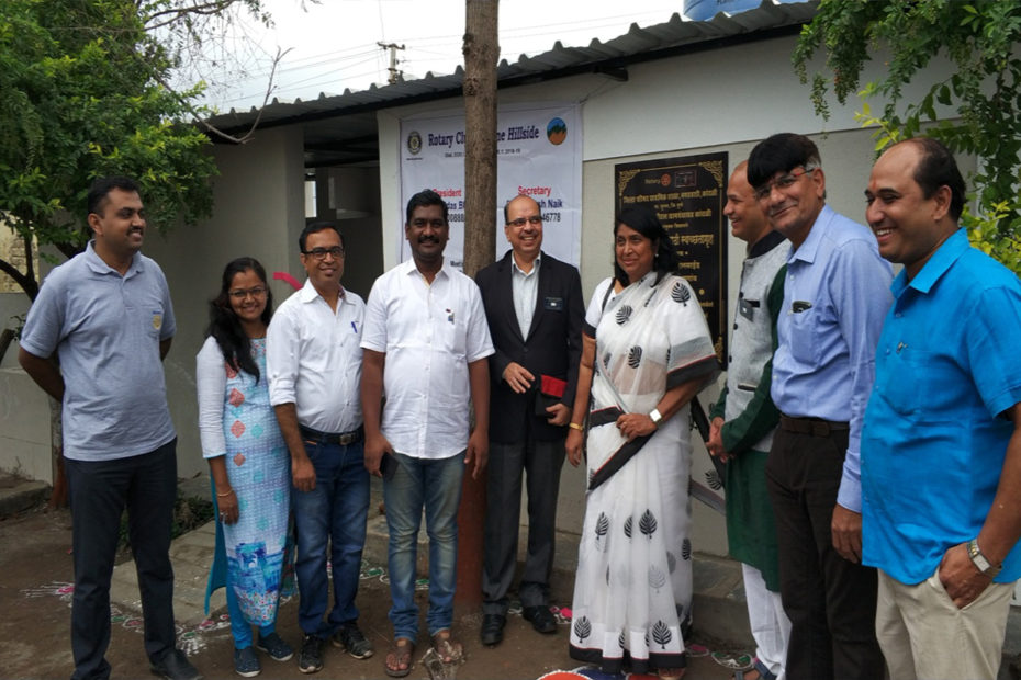 GLOBAL GRANT PROJECT GG1530915, DISTRICT 3131 IN PUNE AREA OF INDIA BUILDING ECO-SAN TOILETS AND TOILETS FOR RURAL SCHOOLS