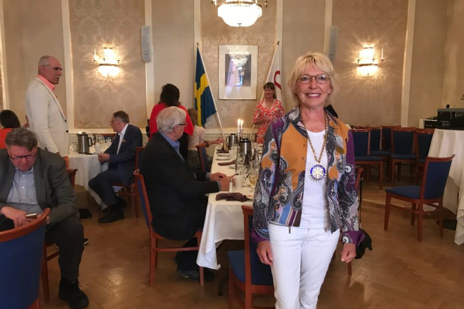 Inkommande President Eva Wenström