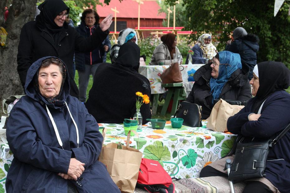 Livstyckets utbildning fikar på Färsna gård hösten 2019
